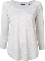 ATM Scoop Neck Pullover