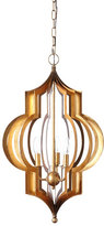 Regina-Andrew Design Regina Andrew Design Pattern Makers Small Golden 3-Light Pendant