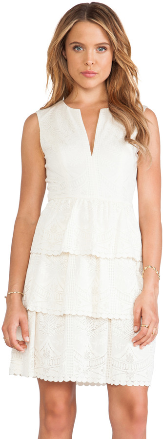 BCBGMAXAZRIA Sleeveless Lace Dress