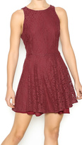 Lucy-Love Lucy Love Holly Jean Sangria Dress