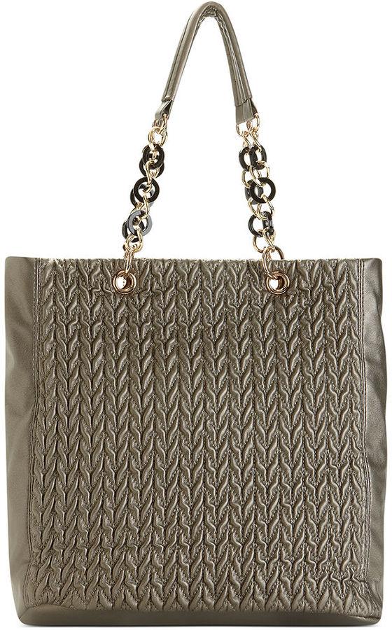 Big Buddha Handbag, Onyx Tote