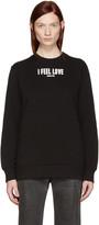 Givenchy Black Logo Pullover