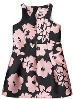 Milly Minis Sleeveless Floral Twill Racerback Dress, Pink, Size 8-16