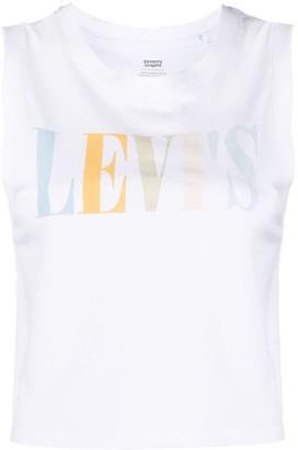 Levi's Logo-Print Tank Top