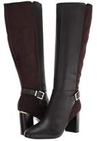 Bandolino Bilya Wide Calf (Coffee) Women's Boots
