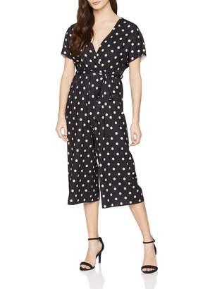 New Look Petite Women's Spot Print Carly5992117 Jumpsuit