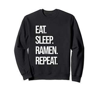 Eat Sleep Ramen Repeat Ramen Noodle Japanese Ramen Sweatshirt