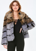 Bebe Luxe Faux Fur Jacket