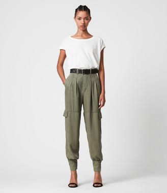 AllSaints Paxton High-Rise Pants