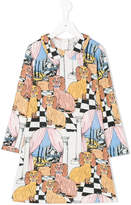 Mini Rodini multi-print dress