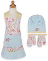 Flower Party Children's Apron and Chef Gift Set