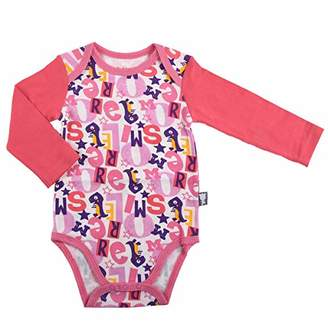 Camilla And Marc More Smile Baby Girl's Bodysuit Long Sleeves - Size 18 Months (86 cm)
