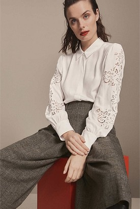 Witchery Filippa Embroidered Blouse