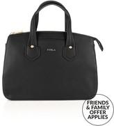 Furla Giada Medium Satchel Bag- Black