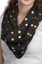 Top It Off Dot Infinity Scarf