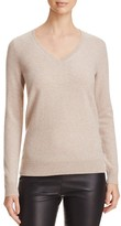 C by Bloomingdale's V-Neck Cashmere Sweater