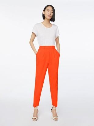 Frame Denim Imaan x High Pleated Trouser