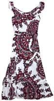 Nieves Lavi MultiColor Print Silk Maxi Dress