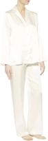 La Perla Iconic Natural Silk Pajamas