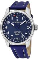 Revue Thommen Men's Airspeed XL 41mm Leather Band Automatic Watch 16050.2535