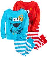 Sesame Street 4-Pc. Cotton Pajama Set, Toddler Boys (2T-5T)