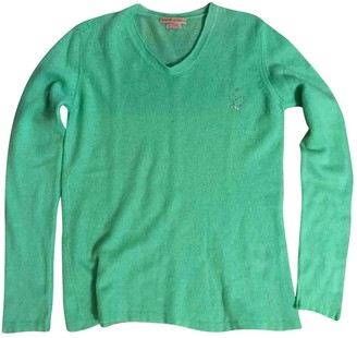 Queene and Belle Green Cashmere Knitwear for Women