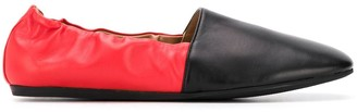 Marni Colour-Block Ballerina Shoe