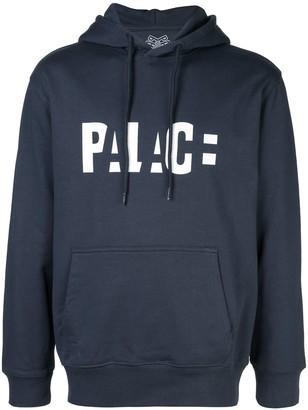 Palace logo block hoodie
