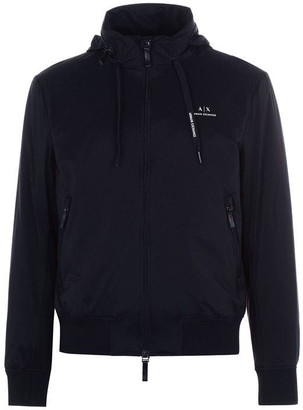 Armani Exchange Zip Logo Jacket