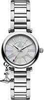 Vivienne Westwood Women's VV006PSLSL Orb Mother of Pearl Silver Analog Display Swiss Quartz Watch
