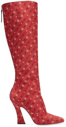Fendi FFreedom knee-high boots