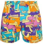 Lousy Livin Underwear Dog Balance Boxer Shorts Yellow