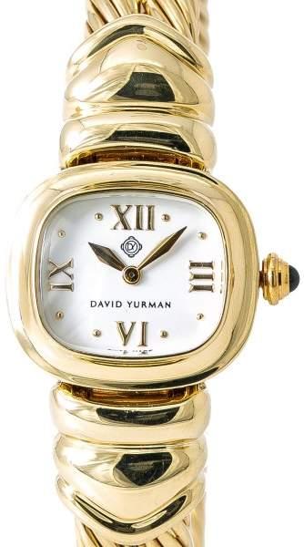 David Yurman T-3833 18K Yellow Gold Quartz 21mm Womens Watch