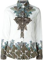 Etro paisley print shirt - women - Cotton/Spandex/Elastane - 44