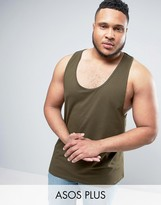 Asos PLUS Tank With Extreme Racer Back