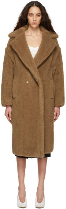 Max Mara Tan Teddy Coat