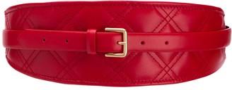 Philosophy di Lorenzo Serafini stitch detail wide belt