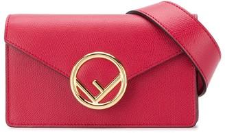 Fendi FF logo plaque belt bag