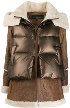Nicole Benisti Hybrid Padded Coat