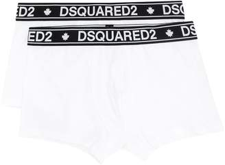 DSQUARED2 logo boxers twin pack