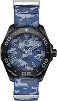 Tag Heuer WAY208D.FC8221 Aquaracer Calibre 5 camouflage titanium watch