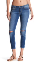 Just USA Knee Slit Crop Jeans