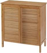 Creative Bath Ecostyle-Louver Bamboo Series 2-Door Floor Cabinet