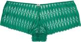 Heidi Klum Intimates Dreamtine low-rise stretch-lace briefs