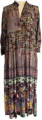 Non Signã© / Unsigned Hippie Chic Multicolour Viscose Dresses