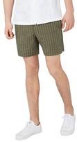 Topman Men's Pinstripe Drawstring Shorts