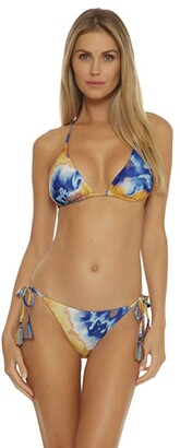Becca by Rebecca Virtue Over The Rainbow Demi Reversible Tie Side Basic (Multi) Women's Swimwear