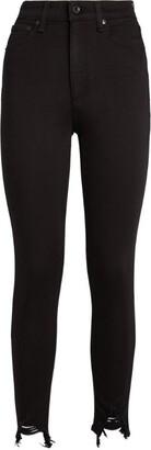 Rag & Bone Nina High-Rise Cropped Skinny Jeans