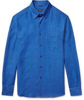 Ermenegildo Zegna - Slim-fit Linen Shirt