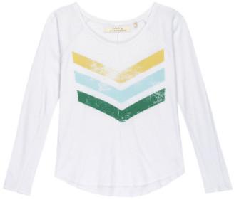 June 7.2 - White Yann Logo Cracked Tee - cotton | S . | white - White/White
